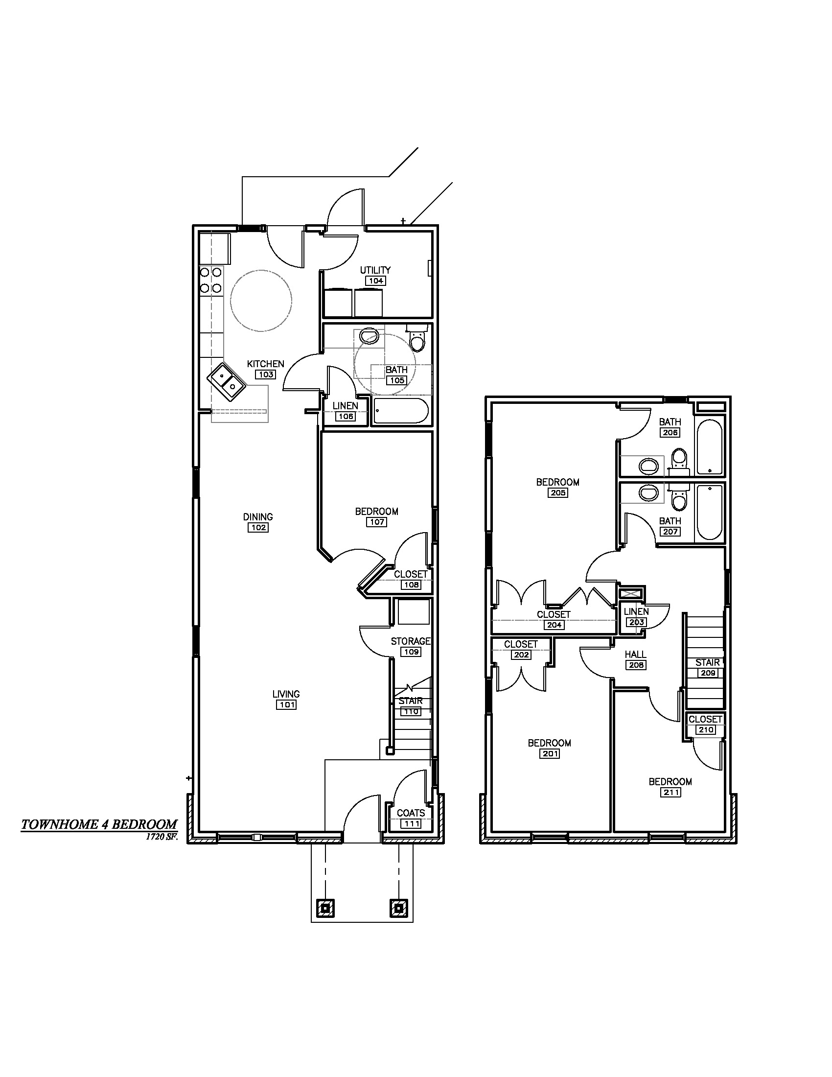 phase i 4 bedroom townhome